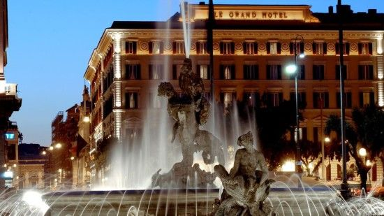 We'll sleep like princesses at the St. Regis Rome * Returning to Rome with American Express & Starwood Preferred Guest You Choose It!