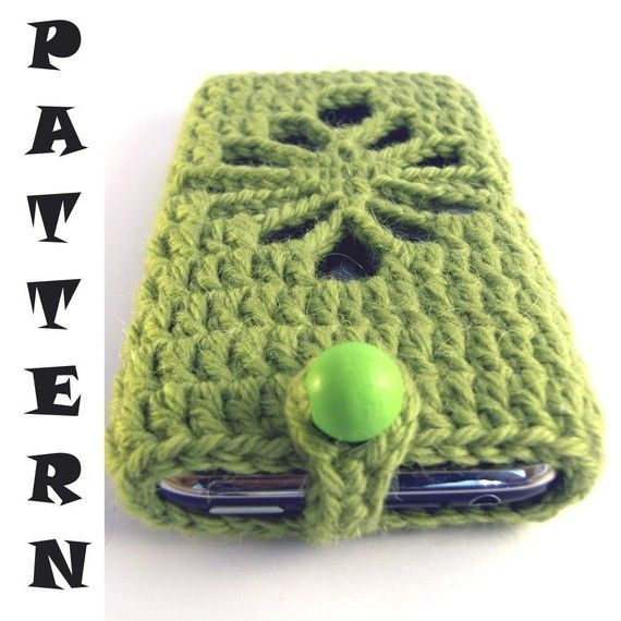 iPhone / iPod touch Cosy Cover CROCHET PATTERN 2 by CuffeShop, $5.00