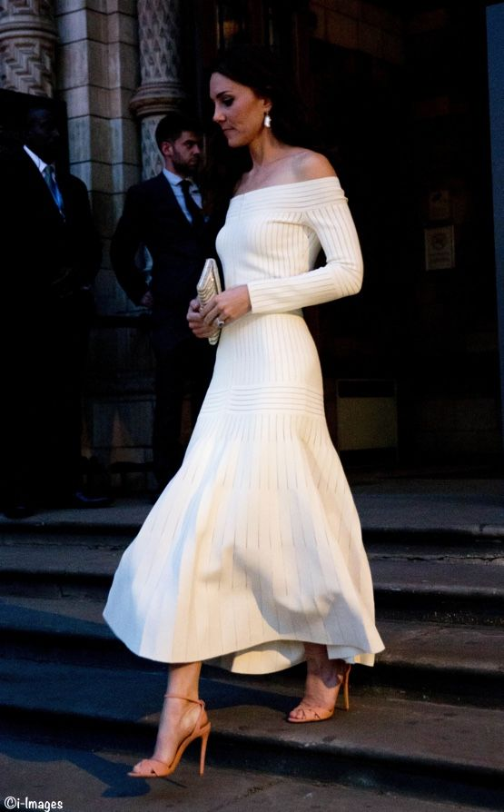 Duchess Catherine / Kate Middleton style - Natural History Museum 2016