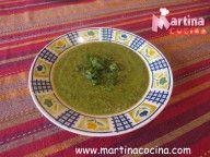 Sopa de Ortigas con Chuchoca