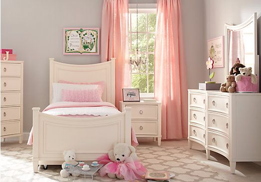 Shop For A Jaclyn Place 5 Pc Twin Bedroom At Rooms To Go