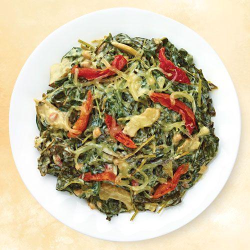 CHRISTMAS SIDE: Baby Kale & Artichoke Casserole (Wegman's Menu ...