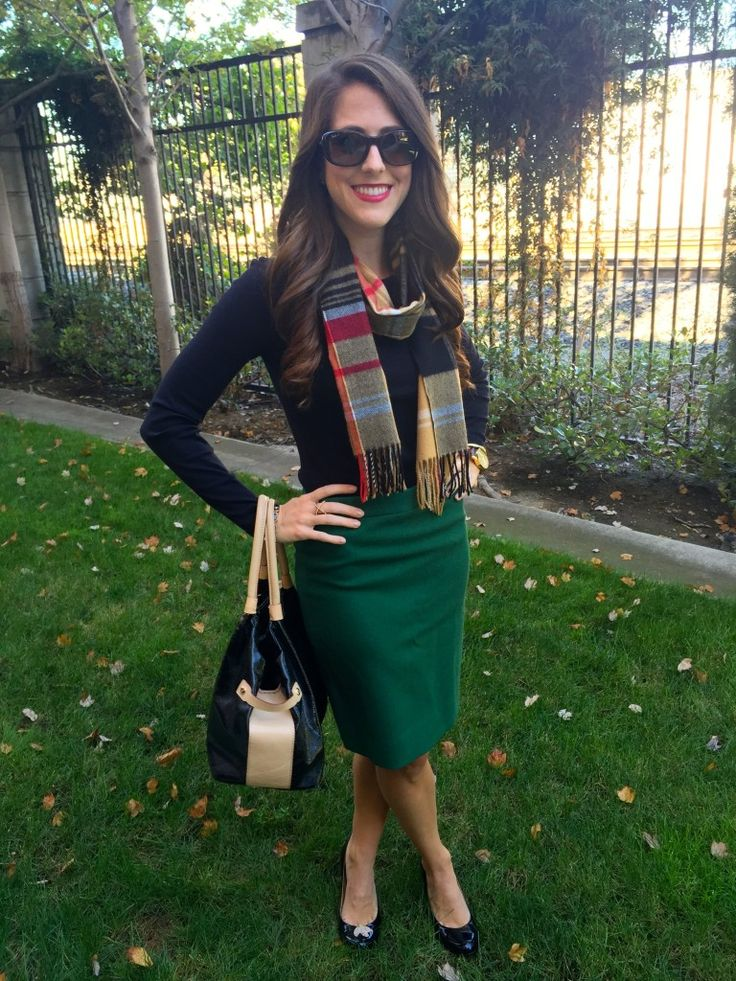 17 Best ideas about Green Pencil Skirts on Pinterest | Animal print blouse Leopard top and ...