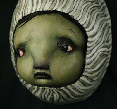 Sad face doll head - Scott Radke