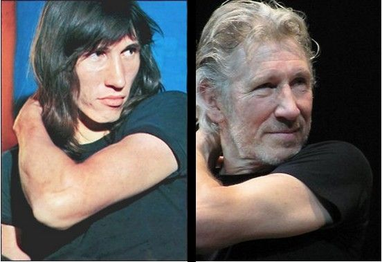 Roger Waters, then and now ^-^