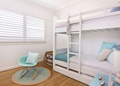 Beachwood Furniture - Beachwood oak bunk beds