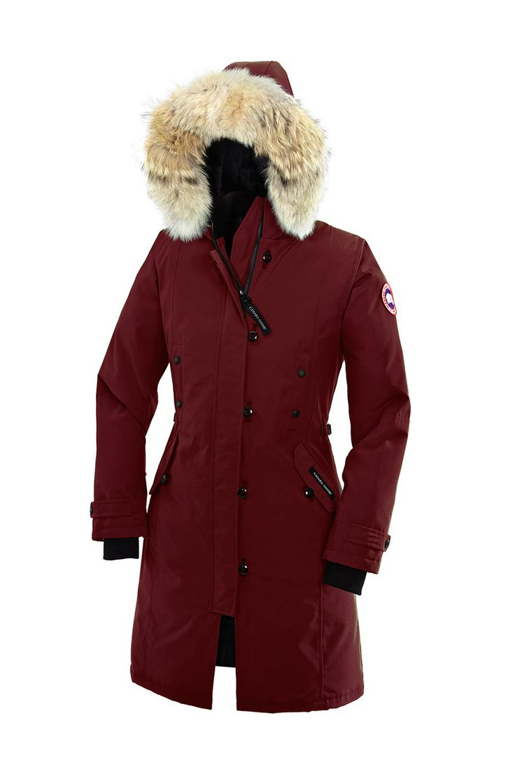 "Canada Goose, Kensington Parka (Niagara Grape) - This is my next ""Must-Buy"" item."
