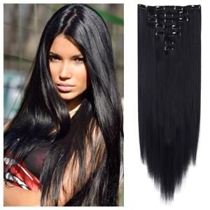 Natural Black Remy Hair Extensions ONLY $66.28!!!