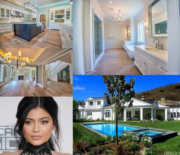 Kylie Jenner Bedroom Bedspread: 30 Best 30 Best Celebrity Homes Images On Pinterest
