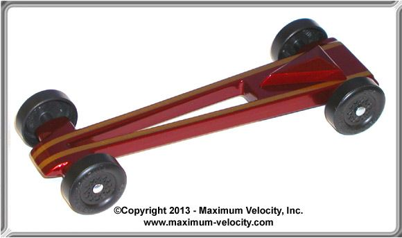 Vector Pinewood Derby Car Kit - Complete