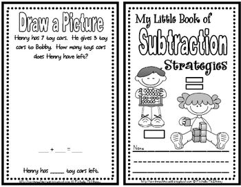Use this mini book when introducing new subtraction strategies or as a culminating review.