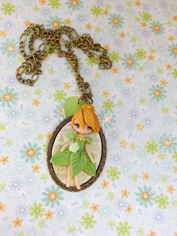 fairy necklace trilly by lapetitedeco on Etsy