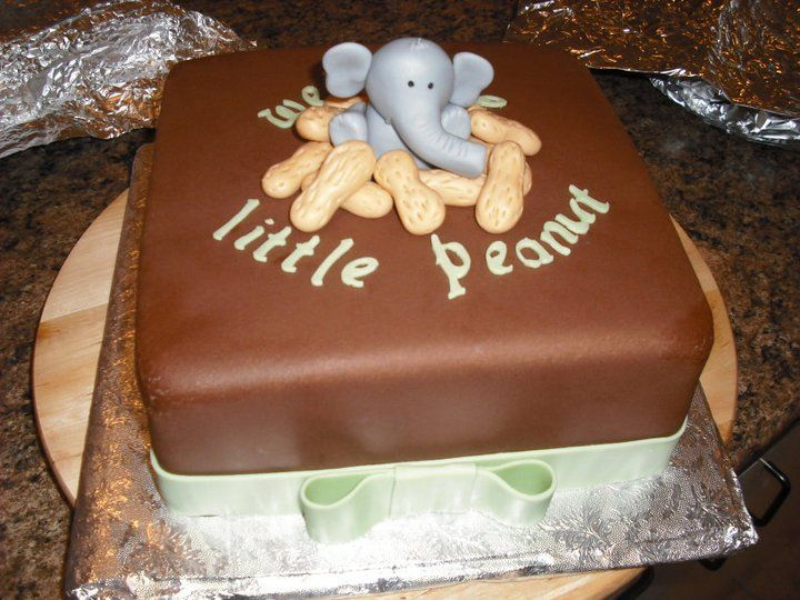 Little Peanut Baby Shower Cake!!! OMGoshhhh!!!