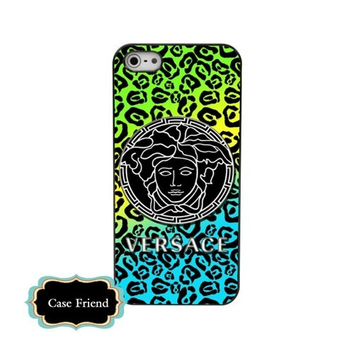 Versace iphone5 case Leopard Luxury Designer ombre phone case | casefriend - Accessories on ArtFire