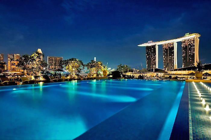 Singapore Muslim Friendly Top Hotels Singapore Hotels Hotel Pool Fullerton Bay