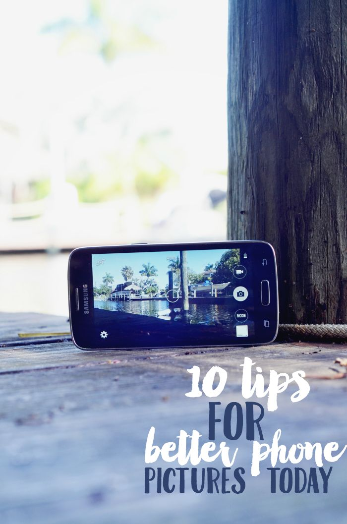 Take better pictures on your smartphone with these phone photography tips. #mobilememories #ad