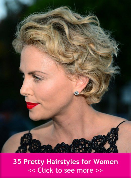35 Pretty Hairstyles for Women: Shake Up Your Image & Come Out Looking Fresher! #Hairstyles #Haircuts #ShortHairstyles