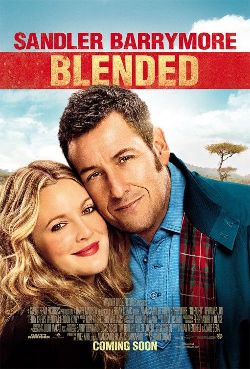 Because America asked for more. See how people like it this coming Friday.  #Blended Movie Poster