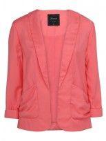 'Molly' Drape Jacket