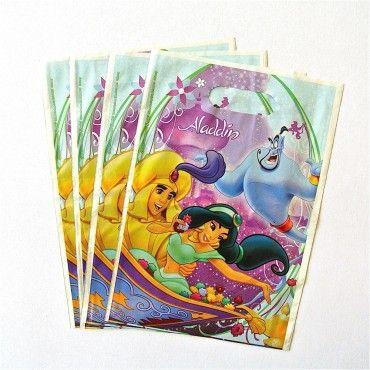 Bolsas Princesa Jazmín de la película Aladdin - Artículos de Fiesta