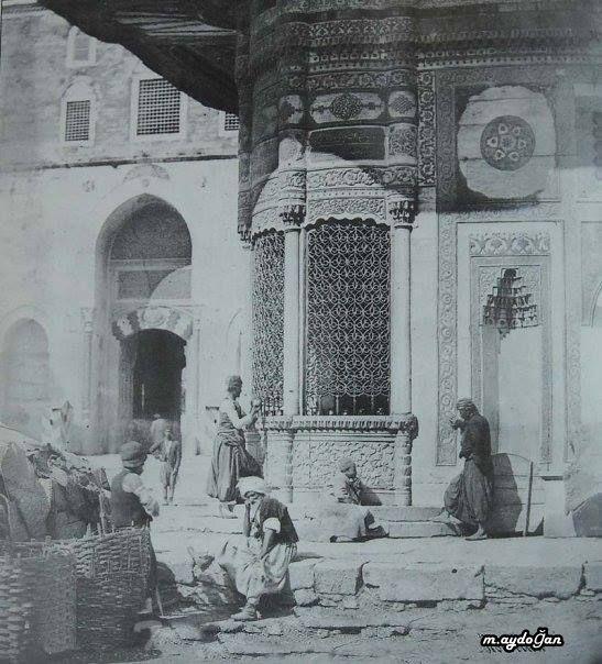İstanbul Sultanahmet Çeşmesi 1854