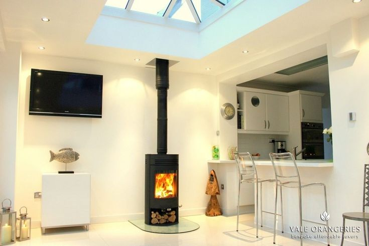 Log Burner In Kitchen Extension Google Search In 2020
