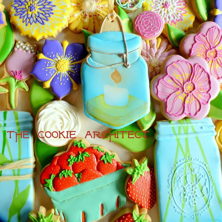 Flower Close Up   The Cookie Architect   Om Nom Nom   Pinterest ...