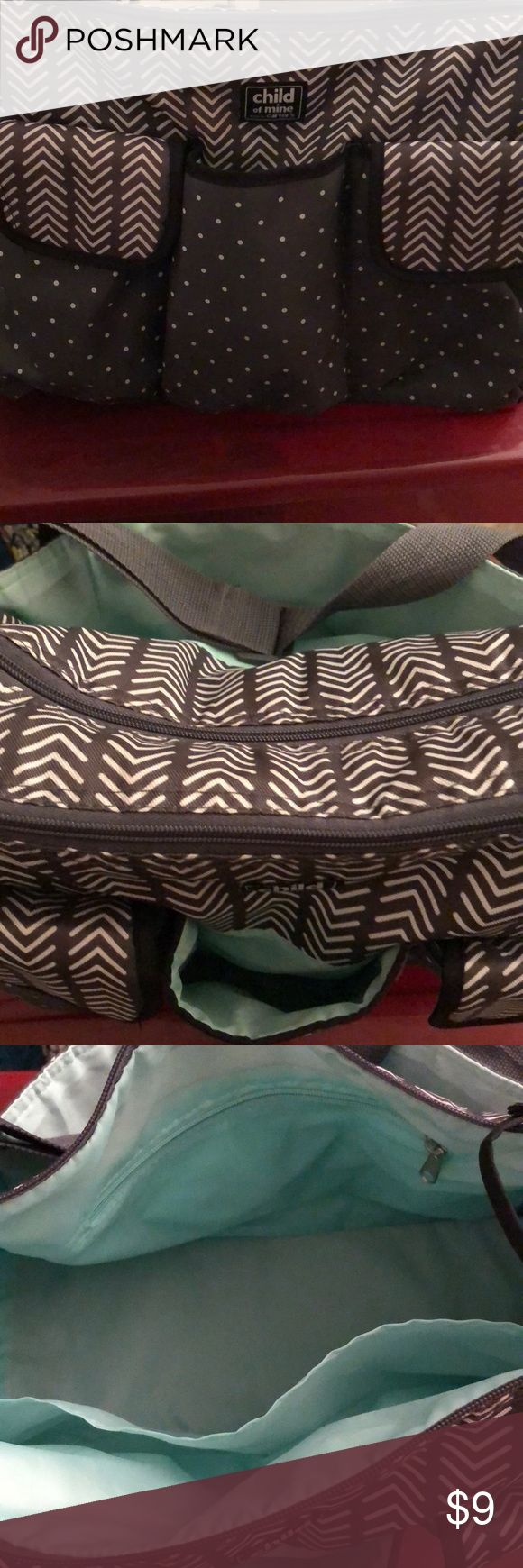 Carter's diaper bag In good condition only used for a trip to see family Carter's Accessories Bags