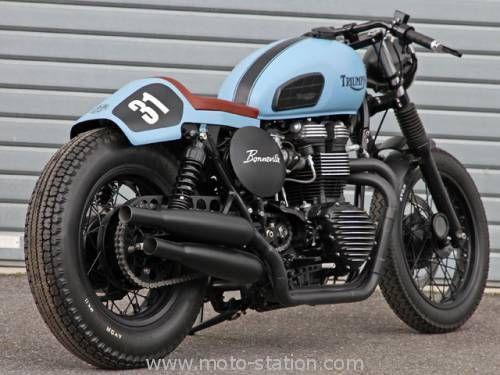 Moto-Station - Triumph Bonneville T100 RCG