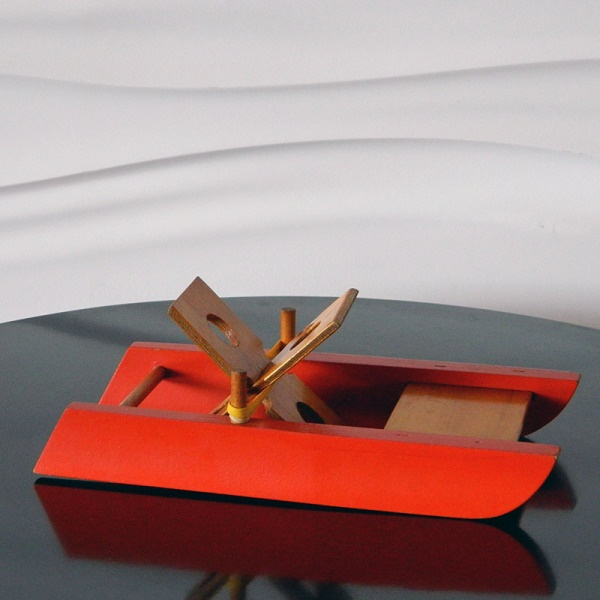 Creative Playthings Finland Wooden Toy Boat The Kid