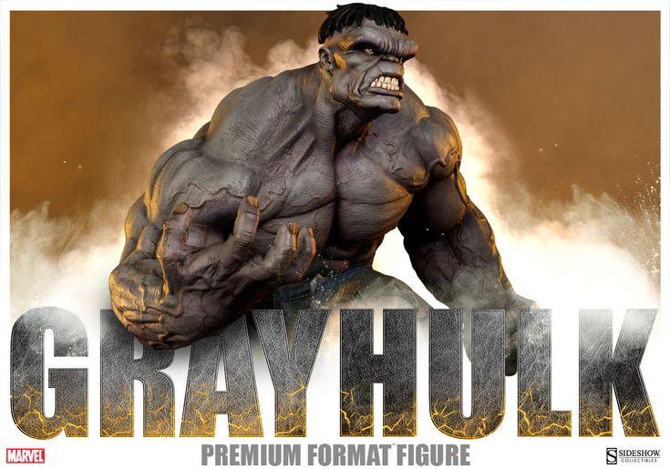 Gray Hulk Premium Format Statue