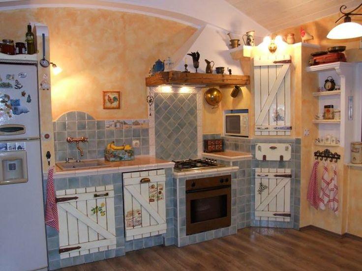 Built kitchen.