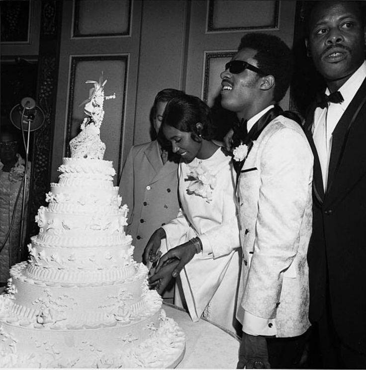 Syreeta Wright singer  and her husband Stevie Wonder
