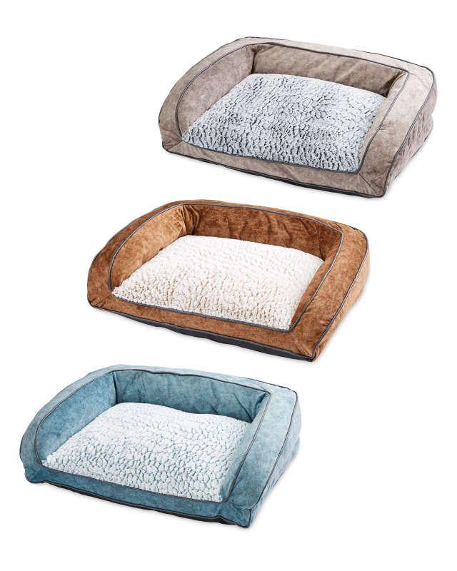 Plush Donut Pet Bed Aldi Uk Pet Bed Dog Sofa Bed Dog Sofa