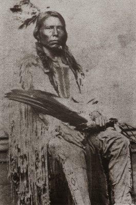 TASUNKA WITKO Caballo Loco o Crazy horse. (1840-1877)