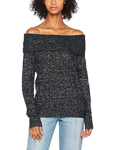 Pull Boo Detail Femme Noir Shoulder Ls Vero Vmamanda black Off Moda Jive PwYx4q0Z