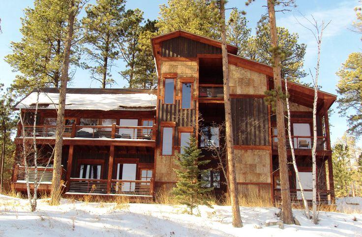 29 best alpine escape gilded mountain cabin black for Cabine black hills south dakota