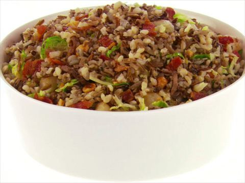 The 25 best wild rice recipe food network ideas on pinterest christmas stuffing with bacon recipe giada de laurentiis food network forumfinder Image collections