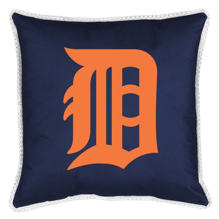 MLB Detroit Tigers Sidelines Throw Pillow