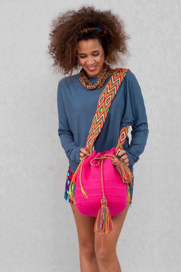Shoulder Bags – Wayuu HandBag Rucksack from Colombia – a unique product on DaWanda.com