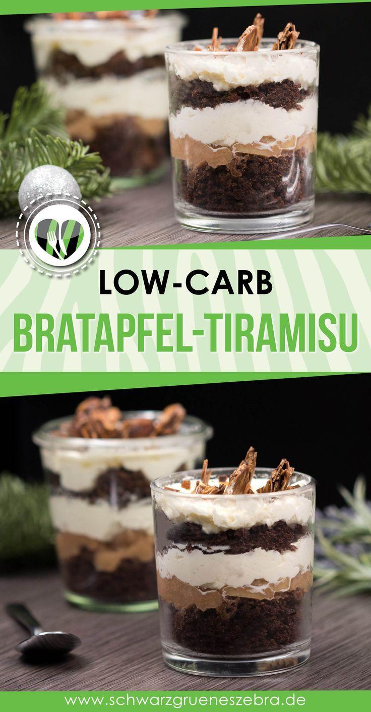 Herbstlicher Bratapfel Tiramisu   – Low carbrezepte