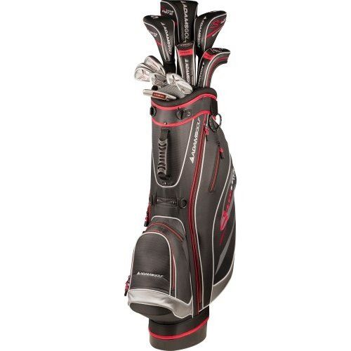 Adams Golf Speedline Plus Regular Set, Right Hand, Black/Red