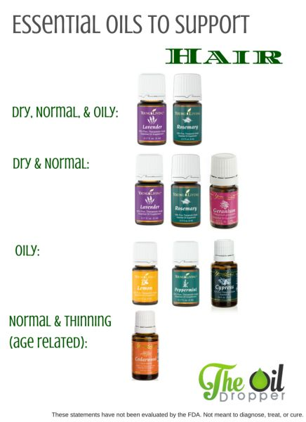 Young Living Essential Oils:   Hair Young Living essential oils--Dayna's member #1893605   www.wellnessandoils.com