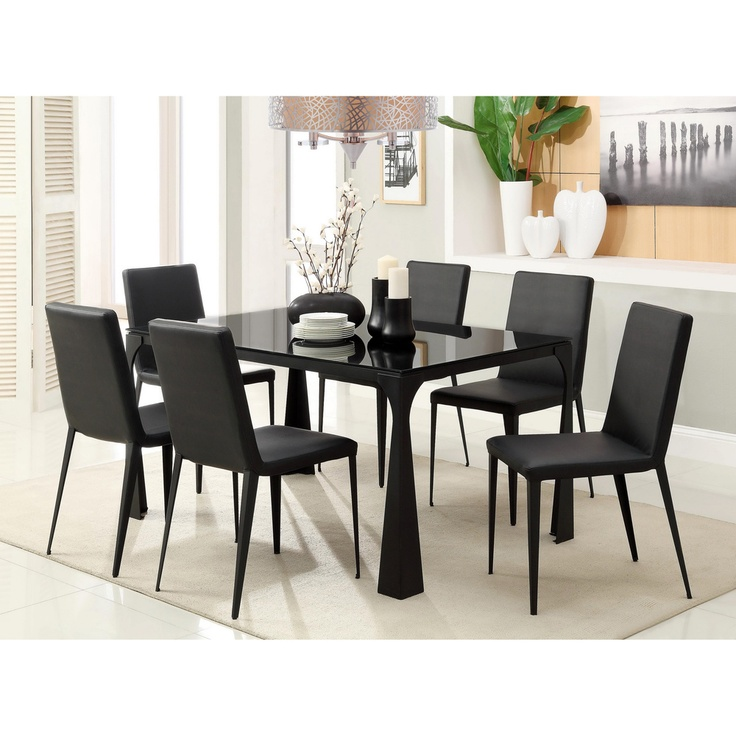 Tempered Glass Dining Table Set. The Most Ikea White Dining Table ...