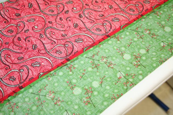 Press seam open quilting pinterest runners table for 10 minute table runner placemats