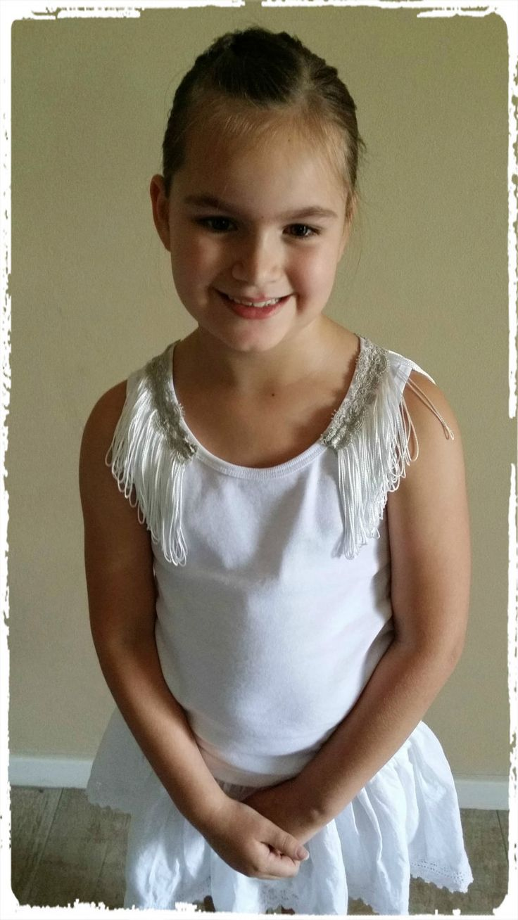 Princess Fringe Top by CouturebyST on Etsy