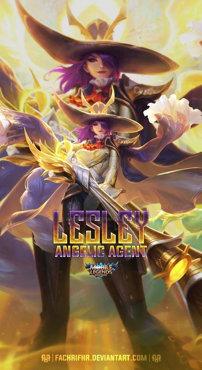 Lesley Angelic Agent By FachriFHR On DeviantArt Di 2020
