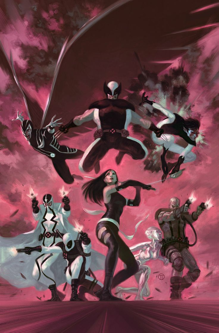 Uncanny X-Force #35 - Julian Totino Tedesco