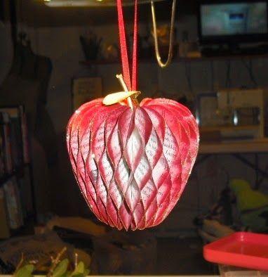 Craft Rantings: Christmas 2014 Honeycomb Ornament Tutorial