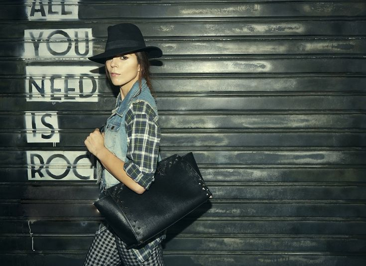 JackyCeline J&C Katy Bag, my bag, black bag, rock bag, irene colzi, fashion outifit
